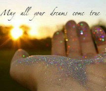 dreams, hand, quotes, stardust