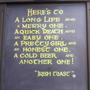 ... , Chalkboard Quotes, Irish Toast, Chalkboards Quotes, Toast Quotes