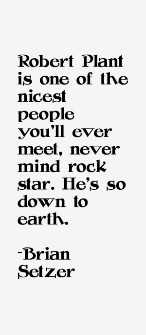 Brian Setzer Quotes amp Sayings