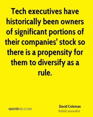 David Coleman Quotes