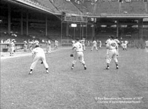 Connie Mack Stadium.