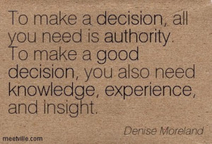 Are you the kind of leader that can make firm decision?