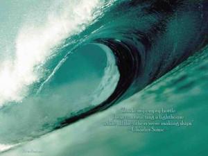 Wallpaper Quotes~~~~~ 118 - Ocean Wave