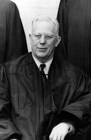Earl Warren Chief Justice...